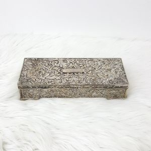 Vintage Godinger Silver Plated Women's Jewelry Box